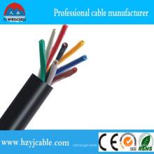 Электрический провод 450 / 750В медного проводника с ПВХ покрытием и оболочкой гибкого кабеля управления
