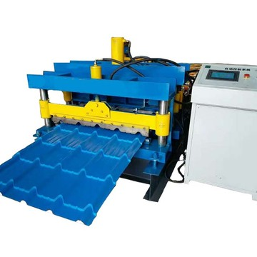 Glaze Steel Tile Forming Machine