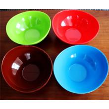 Красочные меламина пластиковой посуды миски (КП-027)