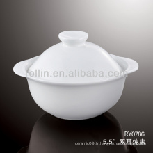Bol de soupe en porcelaine chinoise de bonne qualité