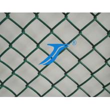 PVC recubierto de malla tenis cerca/pista de cadena Link y cerca del campo