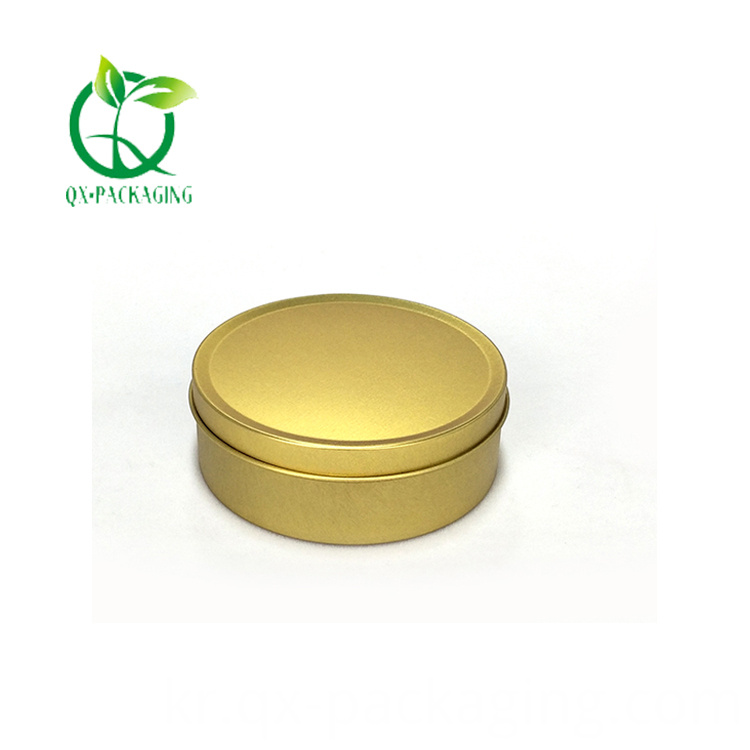 Gold Candle Tins