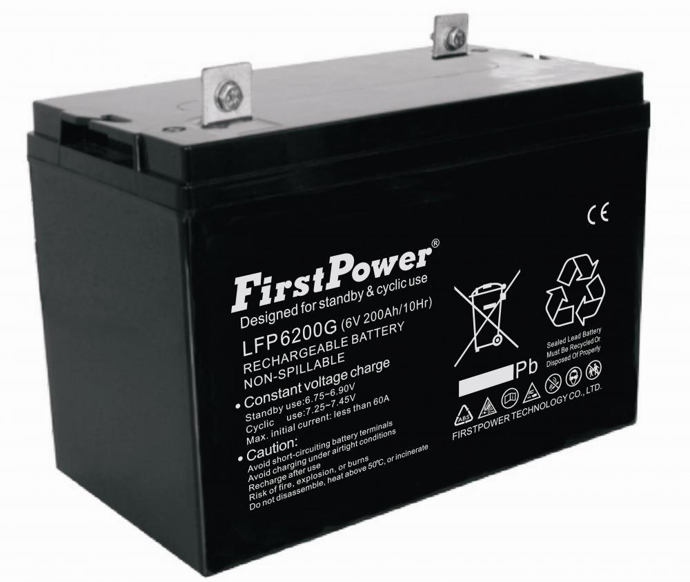 Reserva GEL Battery 6V180AH