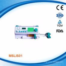 CMEF hot sale! Portable single channel syringe/injector pump for 2014 - MSLIS01