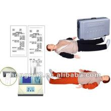 Maniquí inteligente de primeros auxilios de la ISO con el exhibidor del LCD, maniquí adulto del entrenamiento del RCP