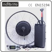 MOTORLIFE/OEM в 1000 Вт заднего колеса электрический велосипед набор преобразования