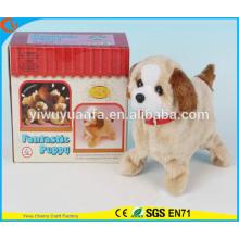 Nouveauté Design Kids 'Toy Colorful Walking Electric Skip Stuffed Puppy