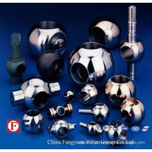 Peças de válvula de esfera de aço inoxidável de alta qualidade