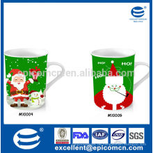 Hohe Qualität und vernünftiger Preis 12oz Porzellan Tasse mit Malerei auf Keramik-Tassen in Shenzhen