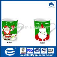 Alta qualidade e preço razoável xícara de porcelana 12 oz com pintura em canecas de cerâmica em shenzhen