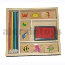 Wooden Stamp (80645)