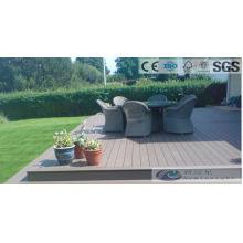 Decking exterior de 146 * 35m m WPC con el SGS, Fsc, certificado del CE