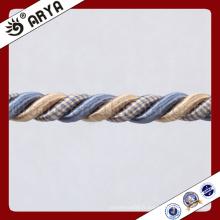 Décoration simple Corde décorative pour décoration de canapé ou accessoire de décoration de maison, cordon décoratif, 6mm
