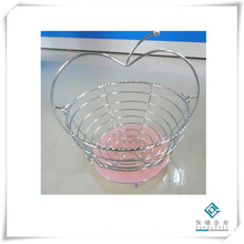 Stainless Steel Round Fruit Basket, Fruit Hamper, Fruit Plate (GD-11)