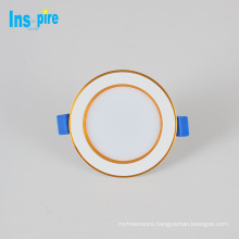New design top quality aluminum mini dimmable led ceiling down light