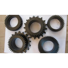 Steel Gear with Black Painted Provided