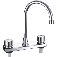 ABS Basin Mixer with Chrome Finished (JY-1036)