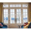 Weiß gefrostet Fenster Bifold Glastür, innen Französisch Glastür