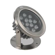 Luz de piscina LED de acero inoxidable a prueba de agua 12W