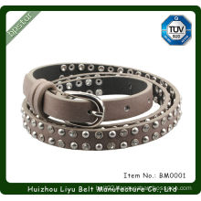 Handmade Sashes Silver Rhinestone Beaded Belts