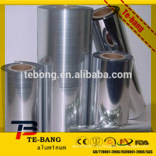 Retirar la hoja de aluminio del envase de la hoja de aluminio hecha en Henan China