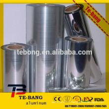 Emballer le film d'aluminium à l'extérieur en aluminium retiré en Henan Chine