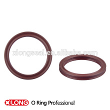 High precision black color viton rubber x ring