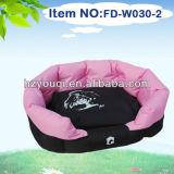 comfortable beauty double mercerized fabric pet dog bed