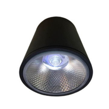 Downlight LED 8W preto moderno
