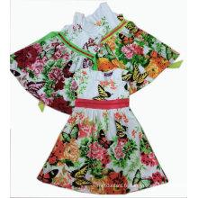 Robe de fête d'enfants de papillon dans les vêtements d'enfants Sqd-101