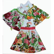 Butterfly Children Party Dress in Kids Clothes Sqd-101