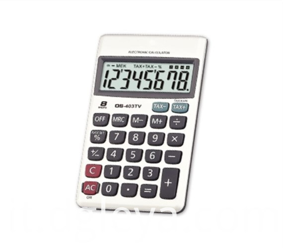 Handheld Calculator of TAX