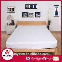 80% poliéster y 20% Algodón protector de colchón impermeable para uso en el hogar