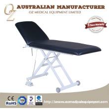 High Quality Black Electric 2 Section Professional Examination Table Treatment Couch Beauty bed Hospital Counch