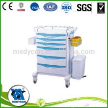 Luxuriöser ABS Nursing Trolley, Notfallwagen