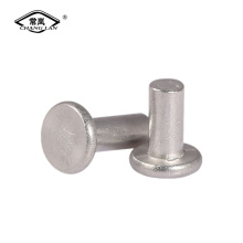 Flat head rivet  Solid rivet