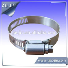 SS301 American style hose clamp