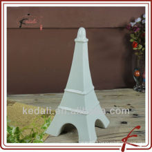 white ceramic home decoration eiffel tower