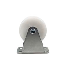 1.5 inch light duty flat plate rigid PP casters