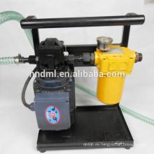 China fabrica el purificador del filtro 25L / purificador clasificado mínimo de la filtración del aceite del flujo