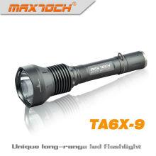 De emergência lanterna recarregável LED Maxtoch TA6X-9