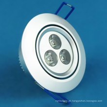 Hot Sale Melhor Preço LED Downlight 3W 85-265V, Epistar Chip