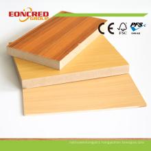 Wanult Color/Cherry Color Melamine Laminated MDF Board