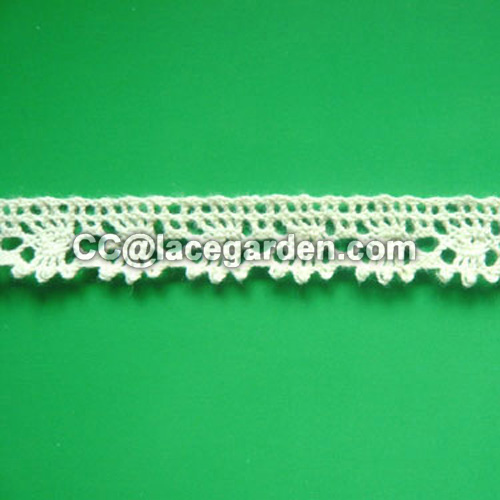Cotton Lace for Fashion Dress Using