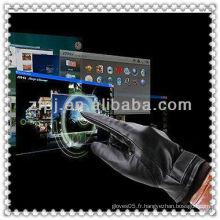 Fabrication de gants screentouch