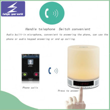 LED Night Light Bluetooth Speaker Touch Lamp