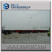 York Axle Heavy Full Trailer Semi Trailer Exports to Sudan