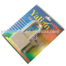 Titanium plated square vane lock