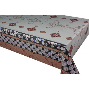 Elegant Tablecloth with Non woven backing