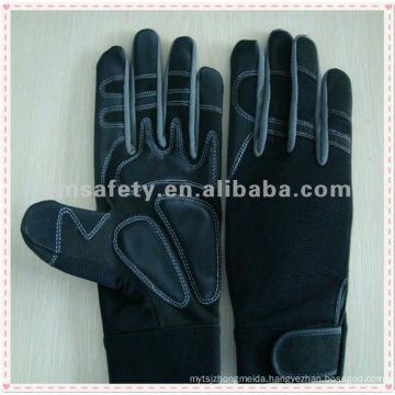 Mechanics Synthetic Leather Anti-vibe Glove HYM01